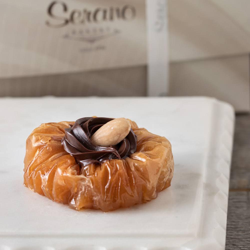 Mini Chocolate Hazelnut Baklava