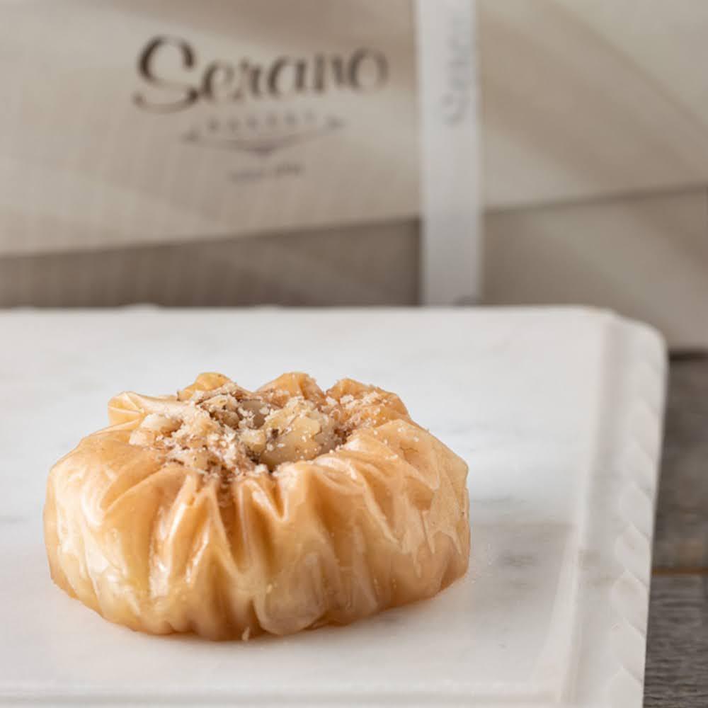 Mini Crushed Walnut Baklava