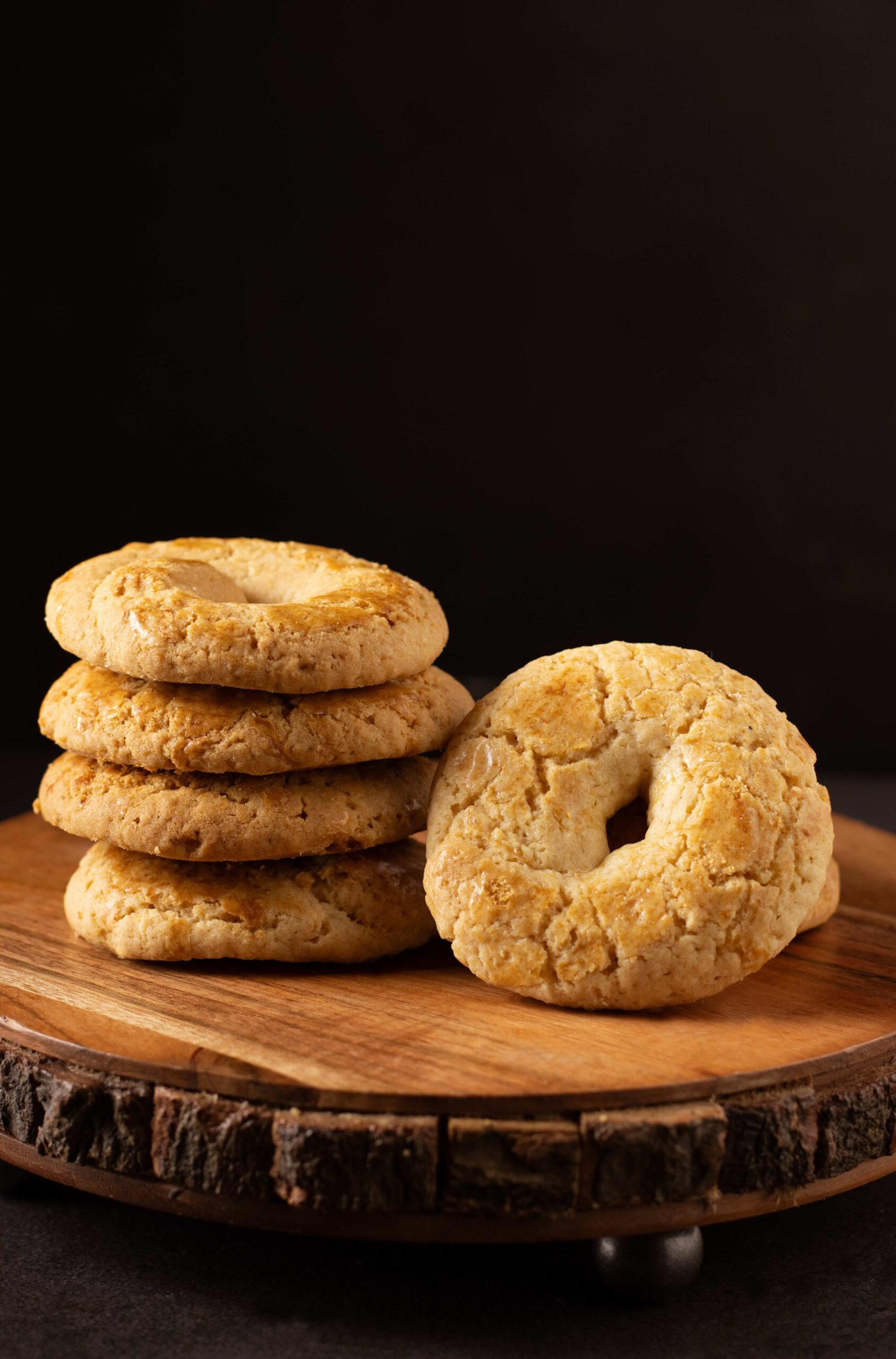 Round Coconut Cookie