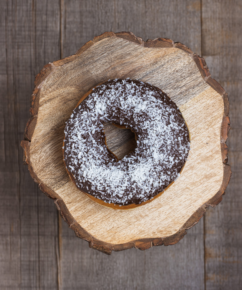 Chocolate & Coconut Donut