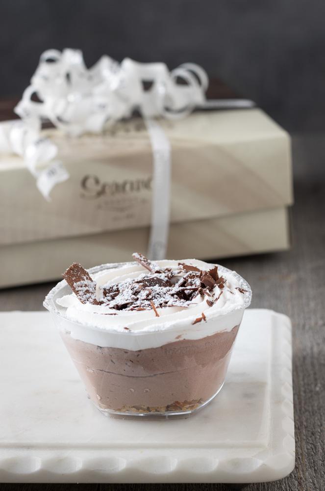 Large Chocolate Profiterole