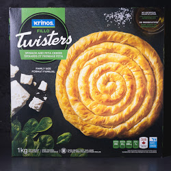 Fillo Twisters Spinach And Feta Cheese Pie