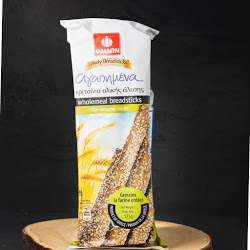 Agapimena Wholemeal Breadsticks With Sesame Seeds