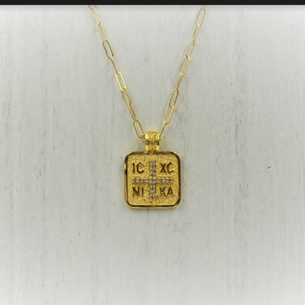 gold-diamond-square-prayer-coin-necklace