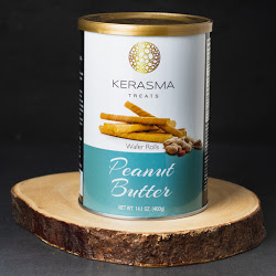 Treats Wafer Rolls Peanut Butter